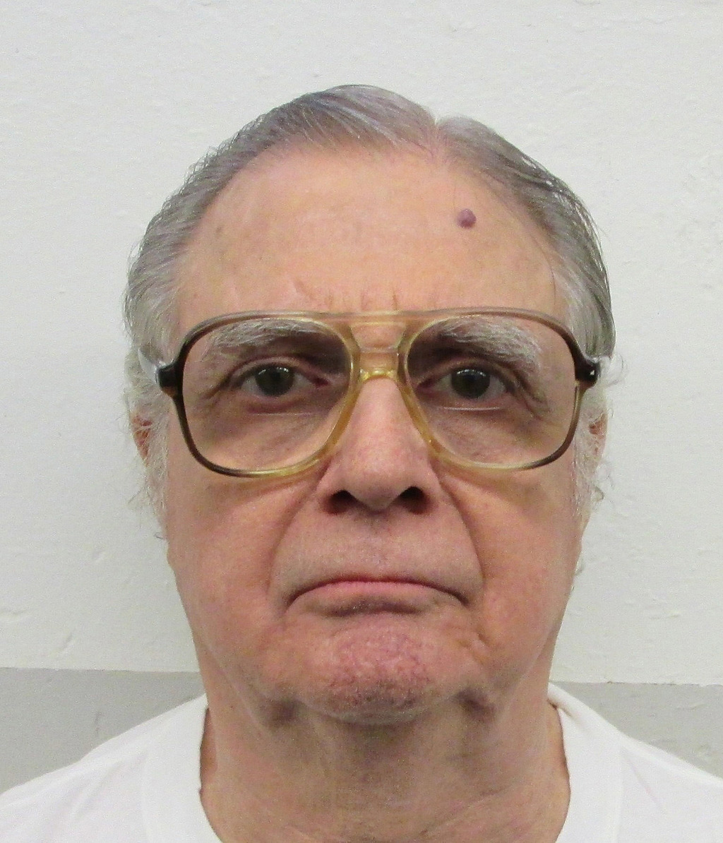 This undated photo released by the Alabama Department of Corrections shows death row inmate Tommy Arthur, who was convicted in the 1982...