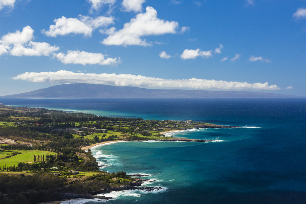 This undated photo provided by the Hawaii Tourism Authority shows a view of the Kapalua coastline in Maui, Hawaii. Kapalua Bay Beach is...