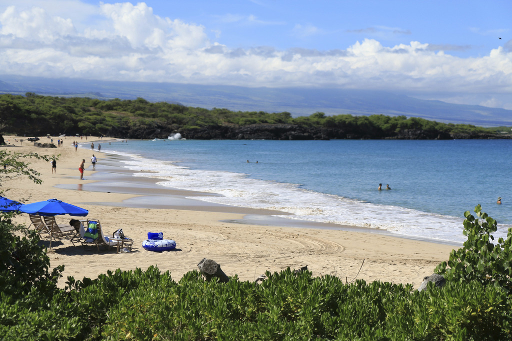 This undated photo provided by Kirk Lee Aeder shows Hapuna Beach in Hawaii. The beach is No. 8 on the list of best beaches for the summ...