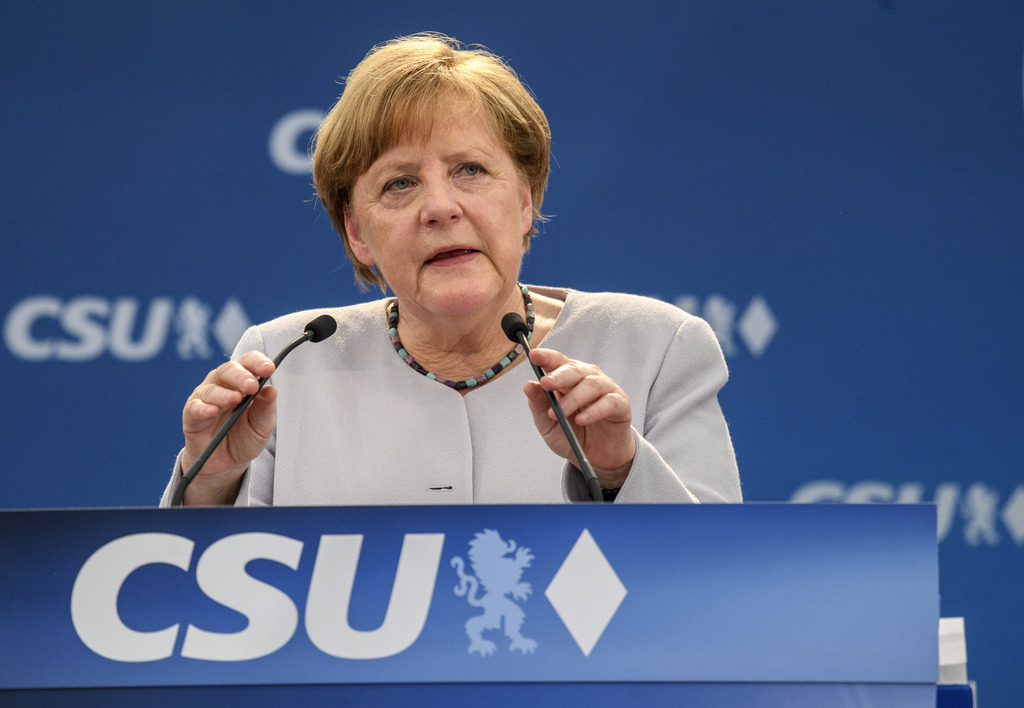 Merkel says European Union  can not  'fully' rely on the USA  or UK