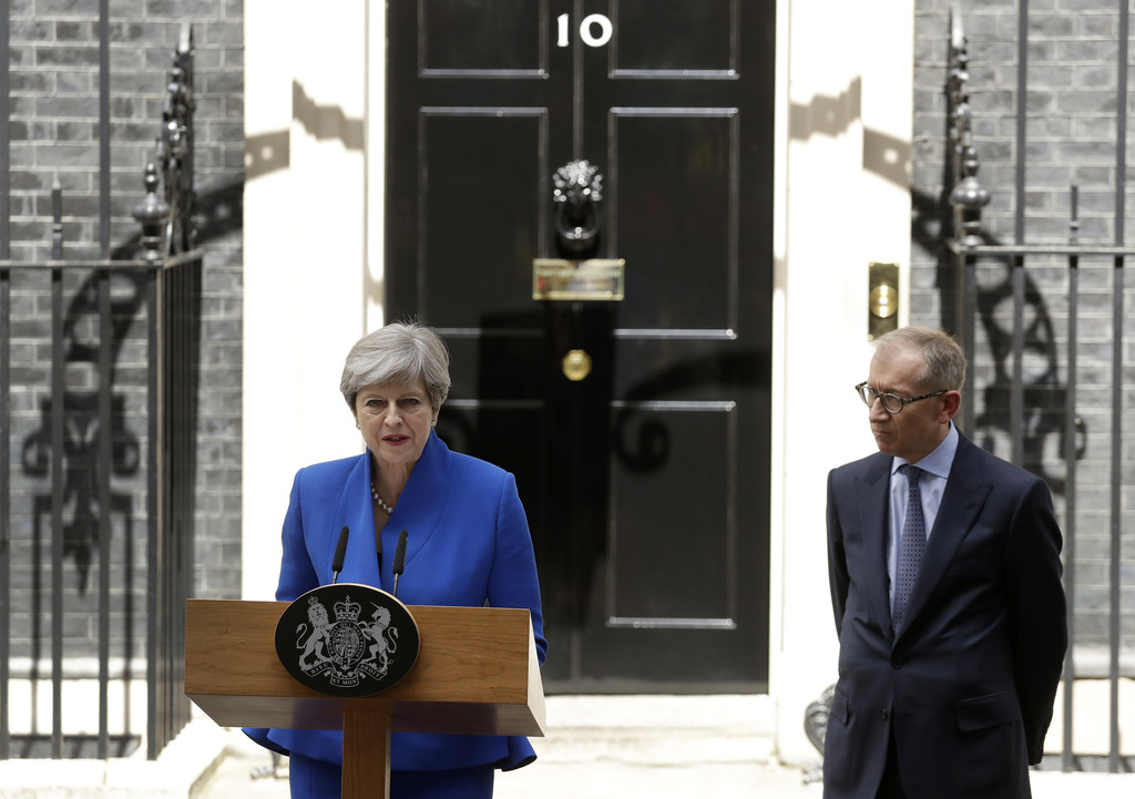 New UK election only alternative to deal with DUP - senior Conservative lawmaker