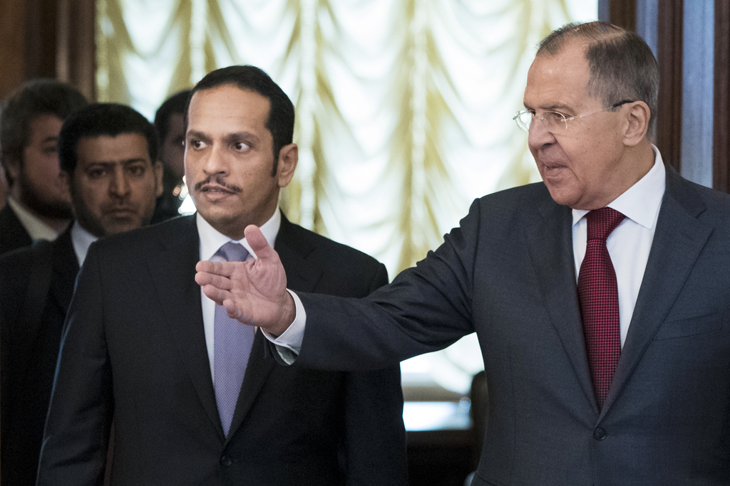 Lavrov: Russia makes efforts to resolve Qatar dispute