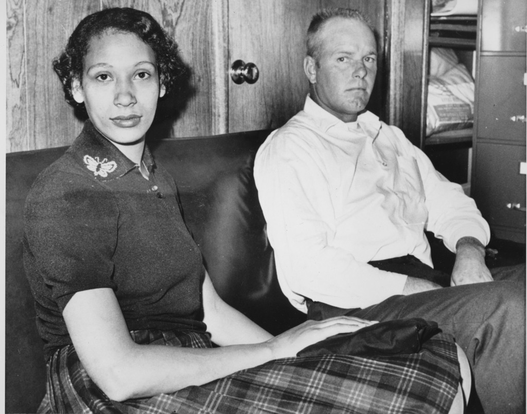 This Jan. 26, 1965 file photo shows Mildred Loving and her husband Richard P Loving.  Fifty years after Mildred and Richard Loving's la...