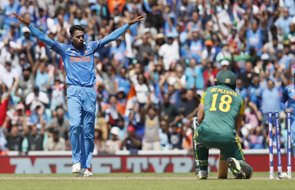 India overwhelm S Africa to reach Champions Trophy semis