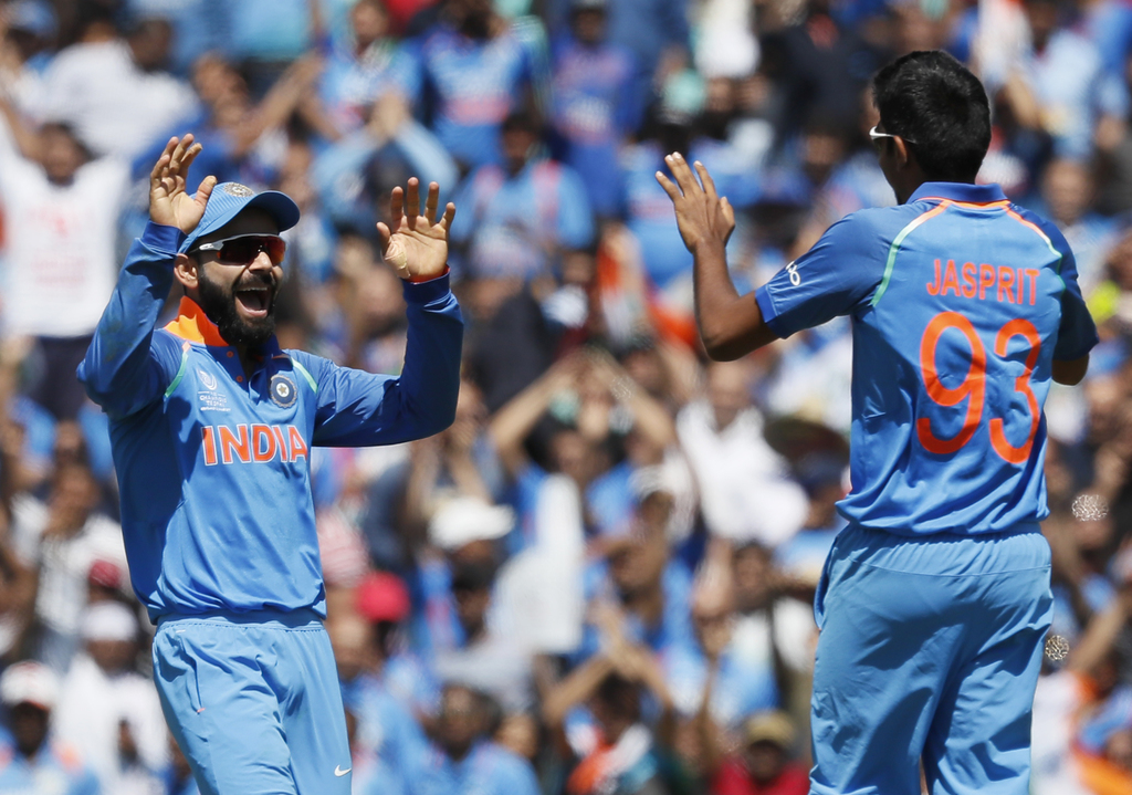 India thrash South Africa to enter Champions Trophy semi-final in style