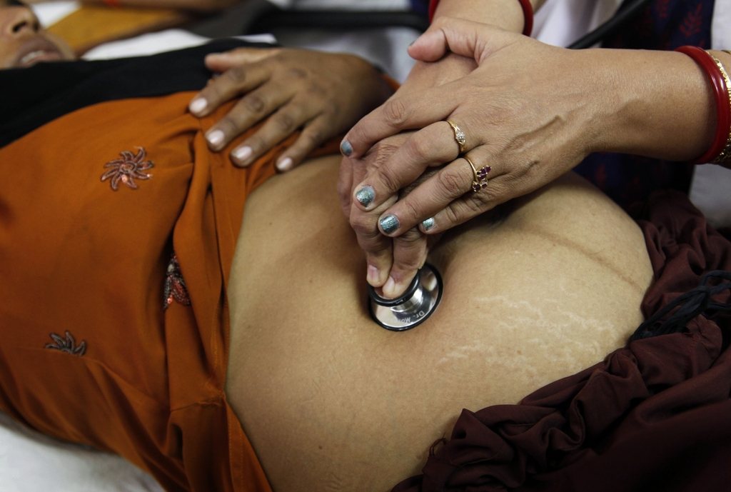 India's no-meat, no-lust advice for pregnant women ridiculed