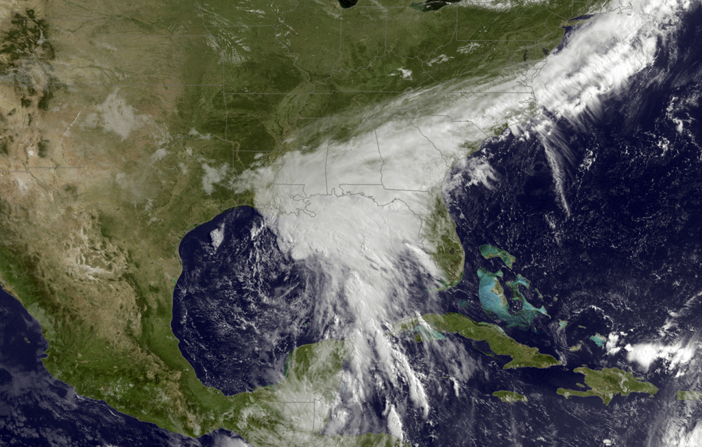 Tropical Storm Cindy weakens, causes flooding along Gulf Coast