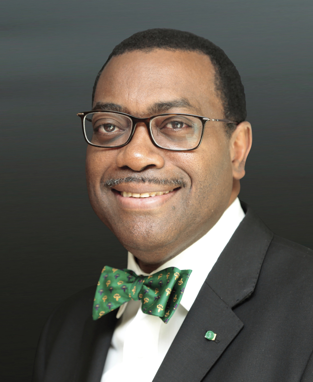 This undated photo provided by The World Food Prize Foundation shows Akinwumi Adesina, the president of the African Development Bank. A...