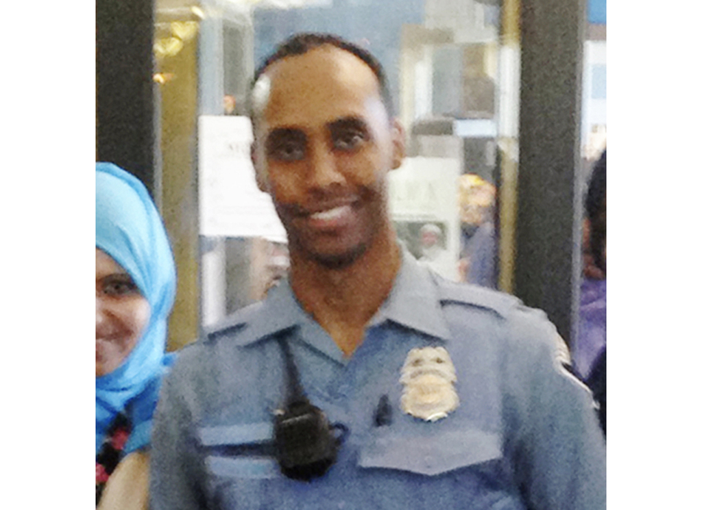 In this May 2016 image provided by the City of Minneapolis, police officer Mohamed Noor poses for a photo at a community event welcoming him to the Mi...