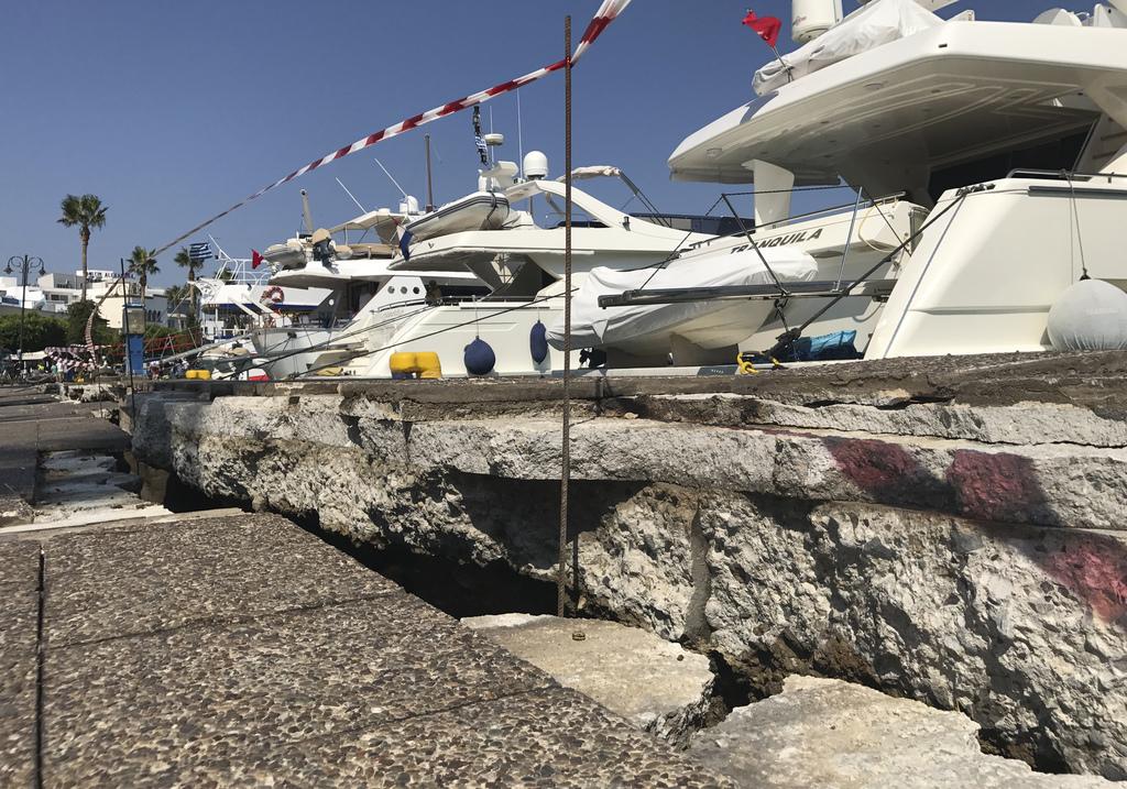 Resultado de imagem para kos greece earthquake