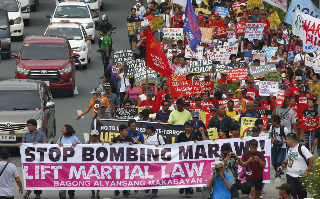 philippine martial law Rodrigo duterte has declared martial law on the philippines second largest island cenk uygur and ana kasparian, the hosts of the young turks, tell you why.