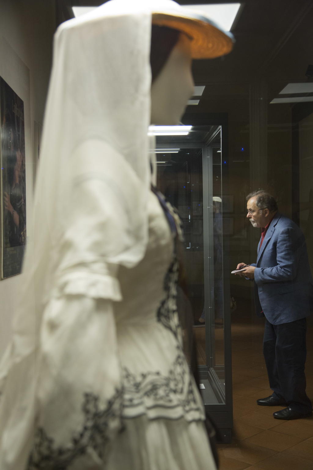 Journalists visit the Franco Zeffirelli International Centre for the Performing Arts during a preview in the late 17th century San Firenze Complex in ...