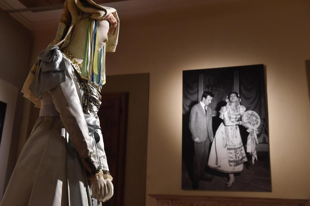 Masterpieces are displayed at the Franco Zeffirelli International Centre for the Performing Arts during a preview in the late 17th century San Firenze...