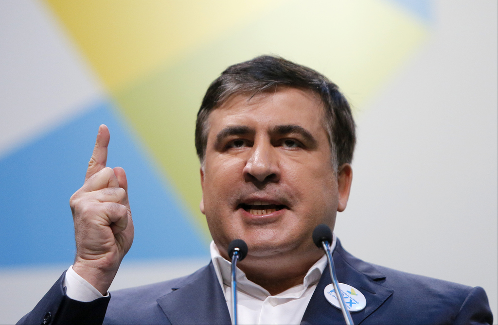 Wanted ex-Georgian president Saakashvili loses Ukrainian citizenship