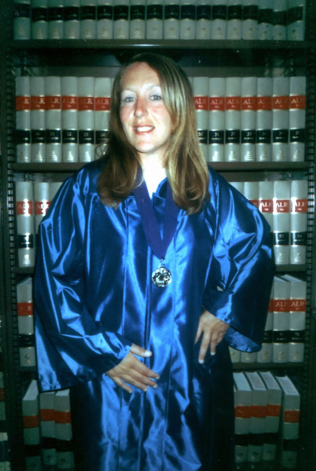 ADVANCE FOR USE MONDAY, JULY 31, 2017 AND THEREAFTER-In this circa 2007 photo from the Michigan Department of Corrections, Jennifer Pruitt celebrates ...