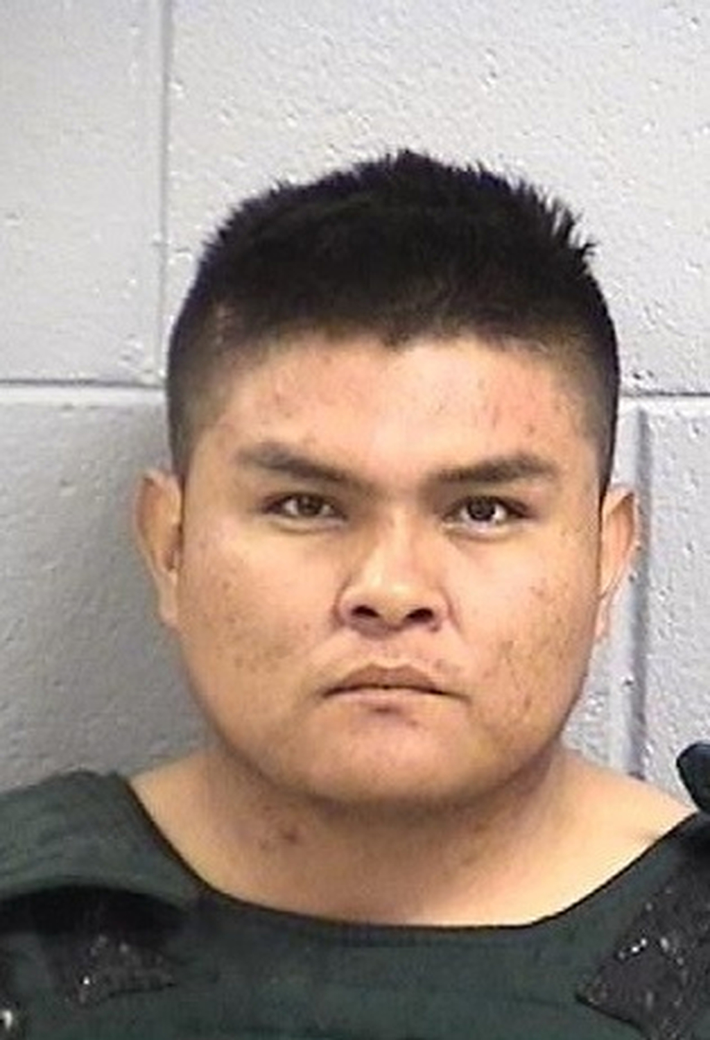FILE - This undated file photo provided by San Juan County, N.M. Detention Center shows Tom Begaye of Waterflow, N.M. More than a year after authoriti...