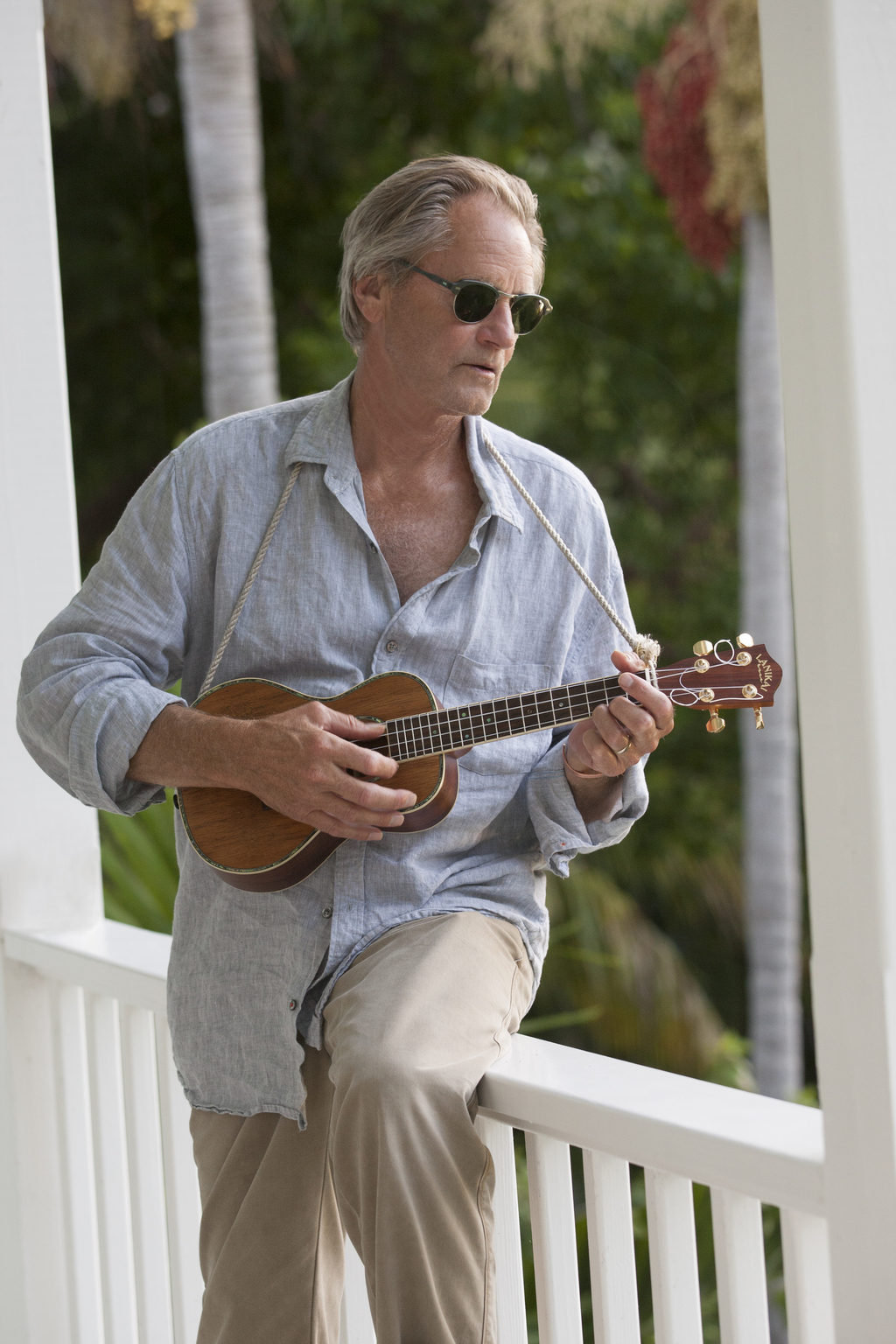 """This image released by Netflix shows Sam Shepard from the original series, """"Bloodline."""" Shepard, the Pulitzer Prize-winning playwright and Oscar-nomin..."""