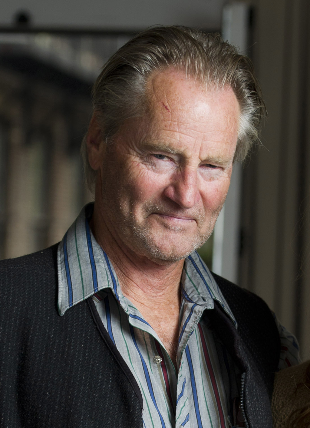 FILE - In this Sept. 29, 2011 file photo, actor Sam Shepard poses for a portrait in New York.  Shepard, the Pulitzer Prize-winning playwright and Osca...