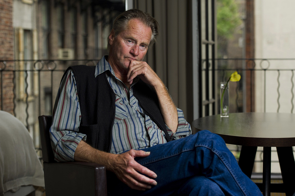 FILE - In this Sept. 29, 2011 file photo, actor Sam Shepard poses for a portrait in New York. Shepard, the Pulitzer Prize-winning playwright, Oscar-no...