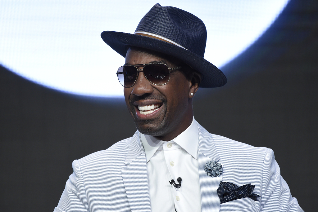 """FILE - In this Wednesday, July 26, 2017, file photo, J.B. Smoove participates in the """"Curb Your Enthusiasm"""" panel during the HBO Television Critics As..."""