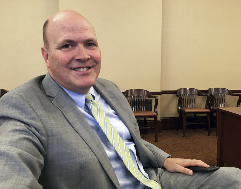 John Q. Cannon poses for a photo after a hearing Wednesday, Aug. 2, 2017, where Utah lawmakers recommended him for a top job over seeing the legislatu...