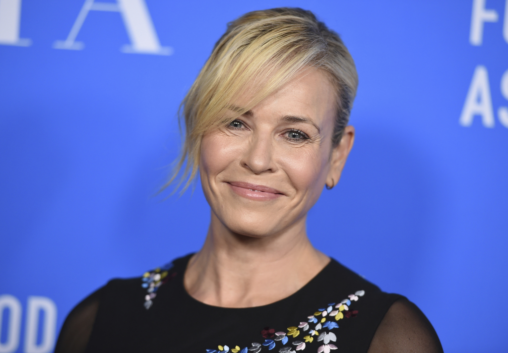 Chelsea Handler arrives at the Hollywood Foreign Press Association Grants Banquet at the Beverly Wilshire Hotel on Wednesday, Aug. 2, 2017, in Beverly...
