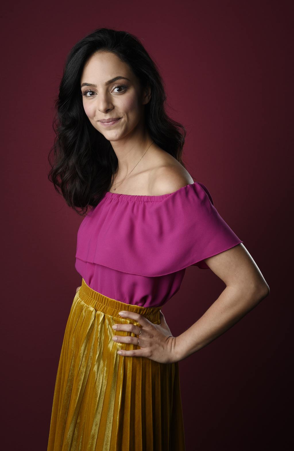 """Tala Ashe, a cast member in the CW series """"DC's Legends of Tomorrow,"""" poses for a portrait during the 2017 Television Critics Association Summer Press..."""