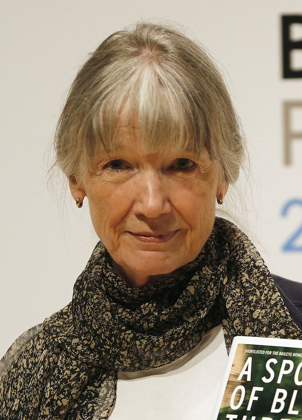 FILE - In this Oct. 12, 2015 file photo, author Anne Tyler appears in London. Paperback editions of Tyler's novels are being issued over the next seve...