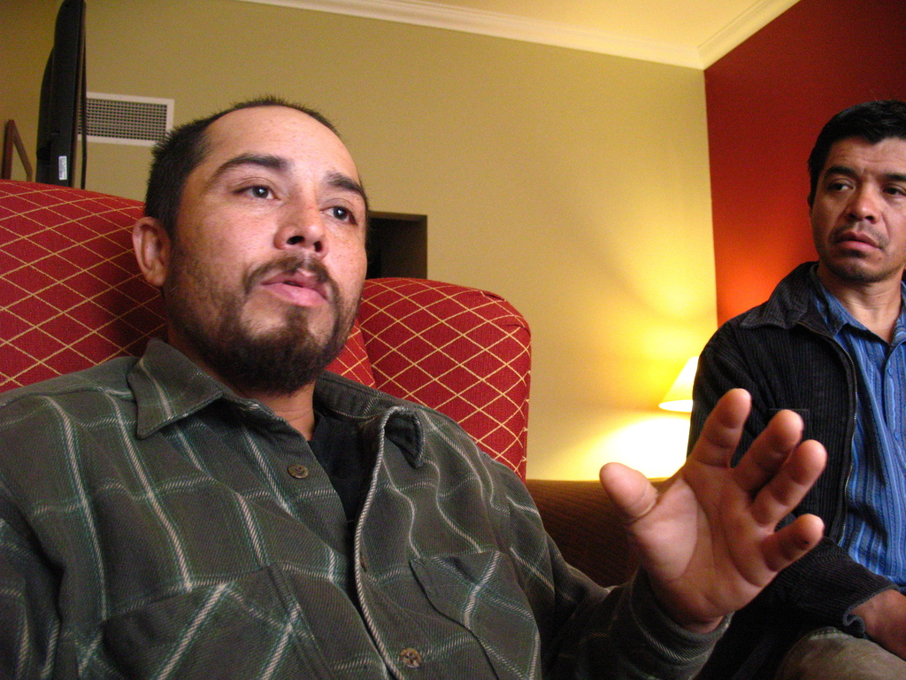 In this October 2013 photo, Audemio Orozco-Ramirez speaks during an interview in Helena, Mont., about a sexual assault he says he experienced at the J...