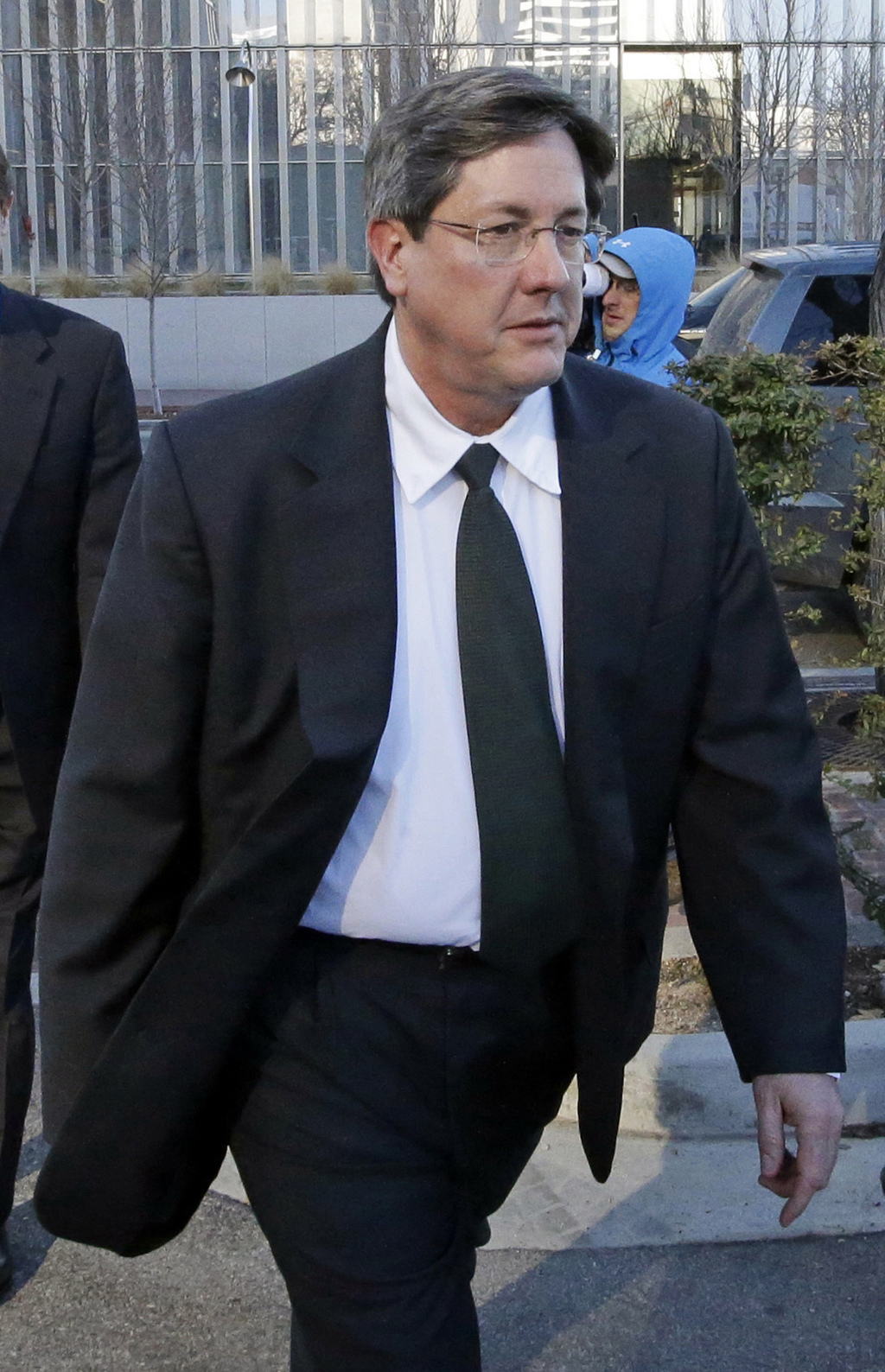 FILE - This Jan. 21, 2015 file photo, Lyle Jeffs leaves the federal courthouse in Salt Lake City. Jeffs, a polygamous sect leader who was recently cau...