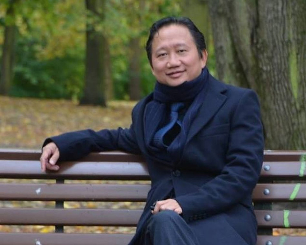 The undated image provided on Aug. 2, 2017 shows Trinh Xuan Thanh, a businessman and former functionary of Vietnam's Communist Party sitting on a park...