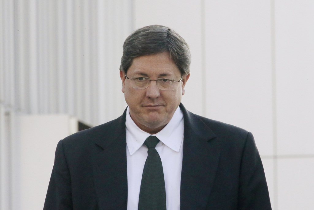 FILE - This Jan. 21, 2015 file photo, Lyle Jeffs leaves the federal courthouse in Salt Lake City. Jeffs, the polygamous sect leader caught recently af...