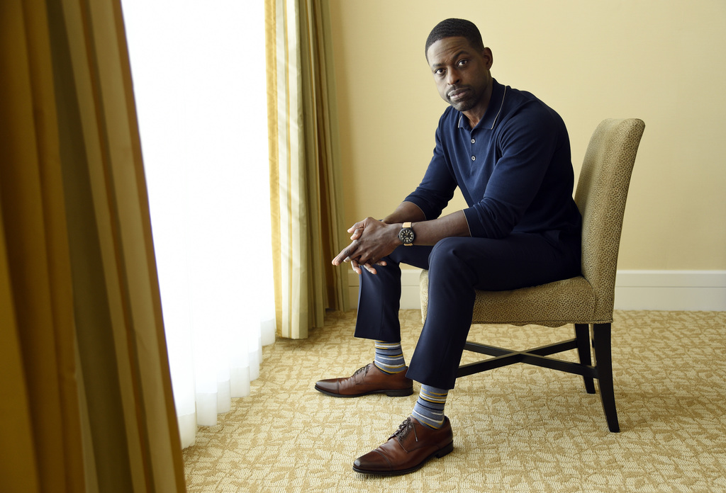 "Actor Sterling K. Brown, a cast member in the NBC series ""This Is Us,"" poses for a portrait during the 2017 Television Critics Association Summer Pres..."