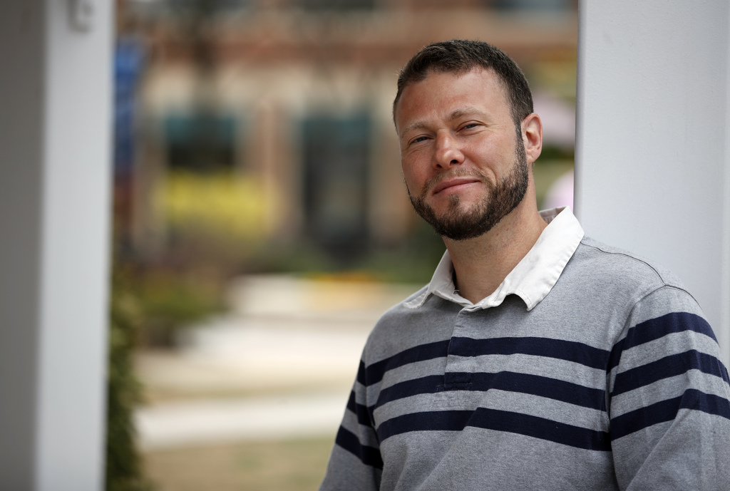 In this photo taken March 30, 2017, Ismail Royer poses for a photograph in Arlington, Va. Royer was been released from prison after serving more than ...