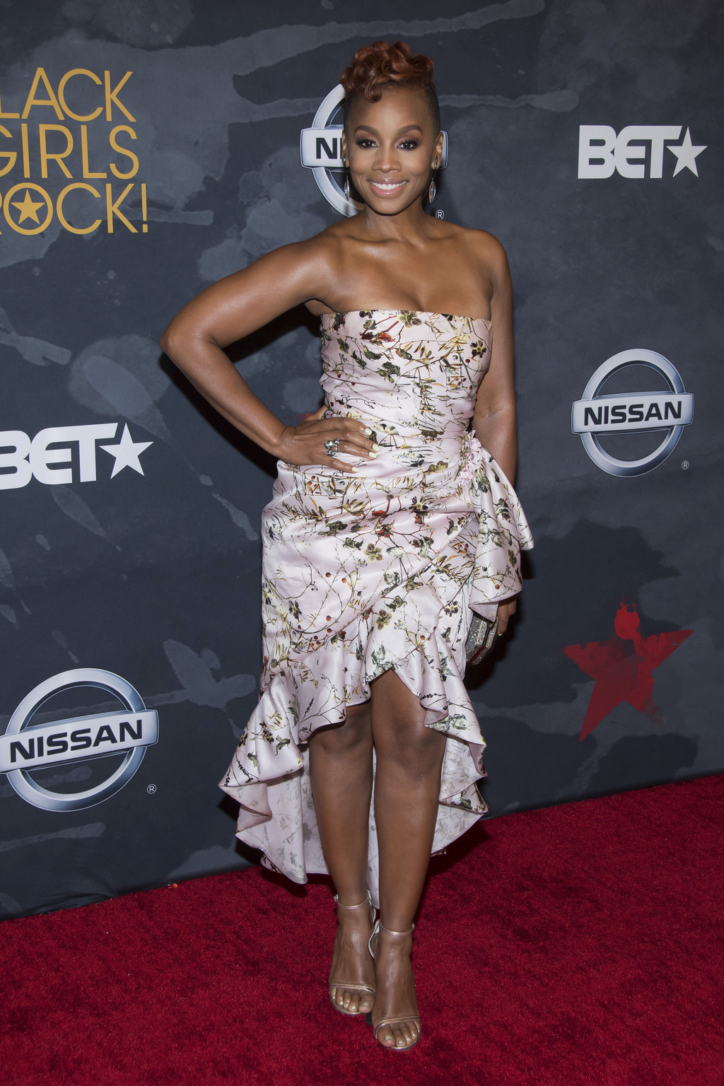 Anika Noni Rose attends the Black Girls Rock! Awards at the New Jersey Performing Arts Center on Saturday, Aug. 5, 2017, in Newark, N.J. (Photo by Cha...