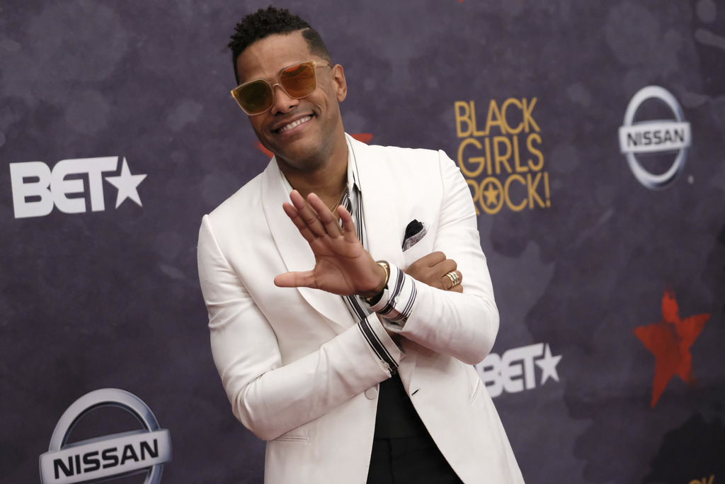 Maxwell attends the Black Girls Rock! Awards at the New Jersey Performing Arts Center on Saturday, Aug. 5, 2017, in Newark, N.J. (Photo by Charles Syk...