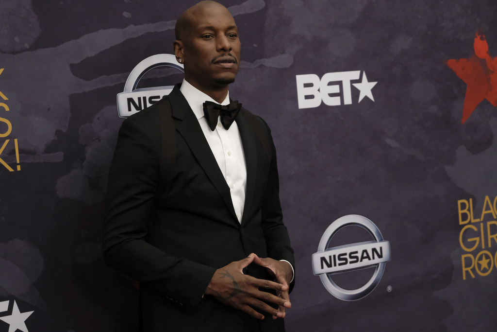 Tyrese Gibson attends the Black Girls Rock! Awards at the New Jersey Performing Arts Center on Saturday, Aug. 5, 2017, in Newark, N.J. (Photo by Charl...