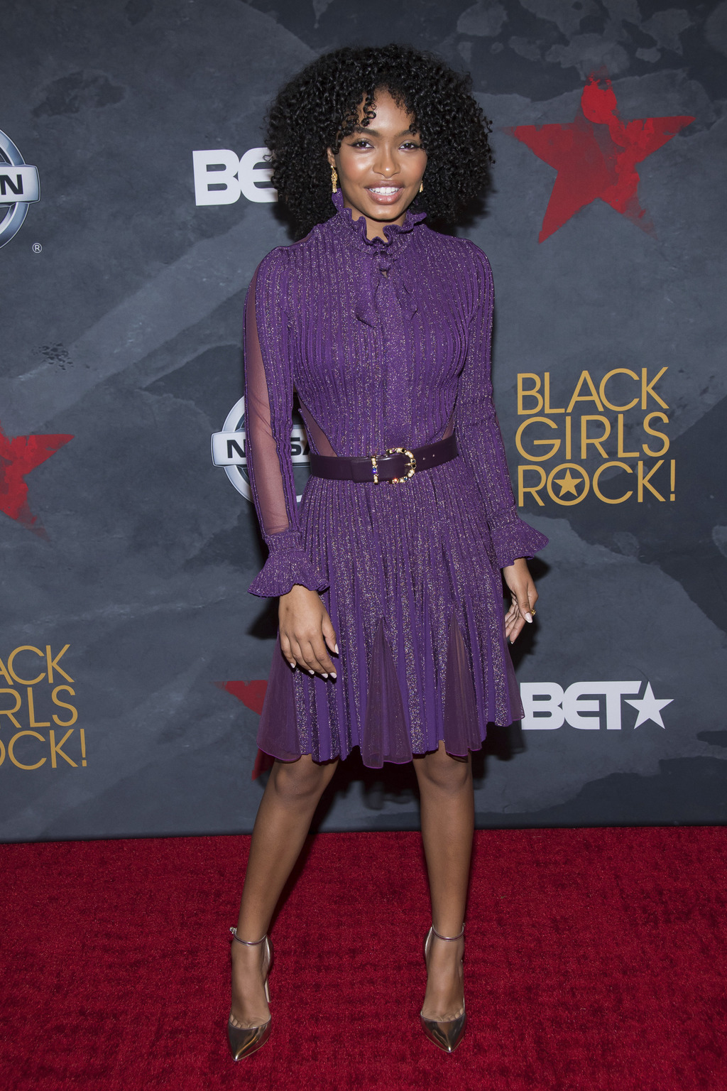 Yara Shahidi attends the Black Girls Rock! Awards at the New Jersey Performing Arts Center on Saturday, Aug. 5, 2017, in Newark, N.J. (Photo by Charle...
