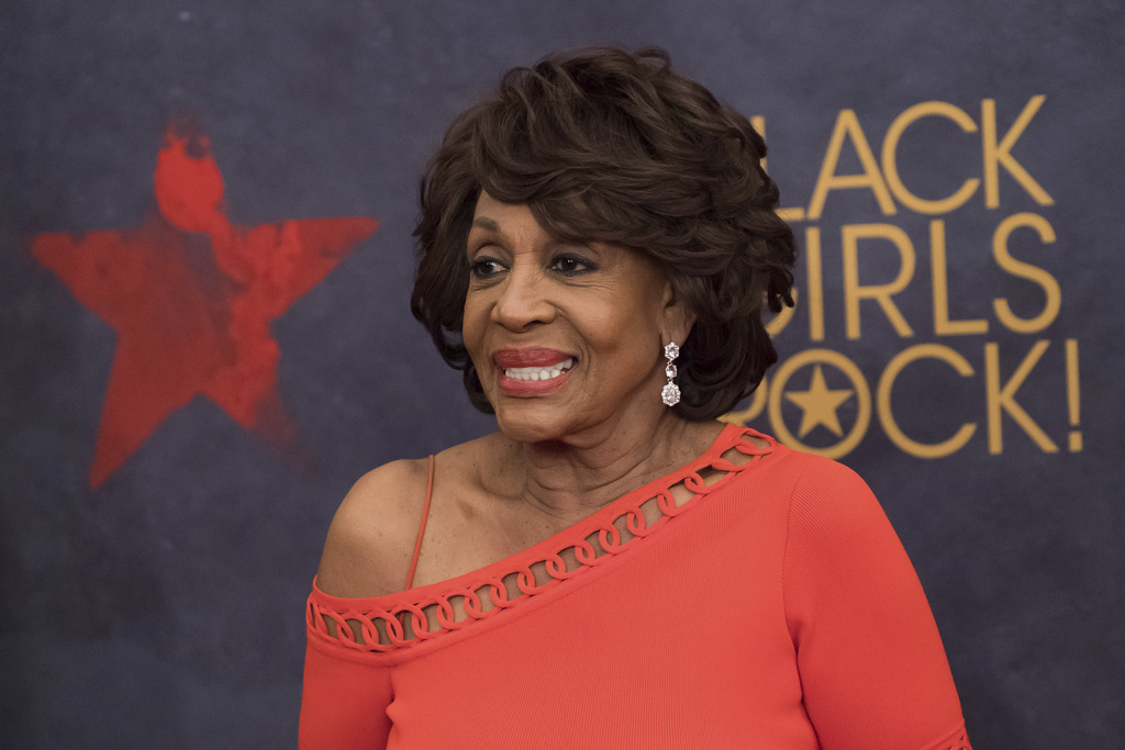 Congresswoman Maxine Waters attends the Black Girls Rock! Awards at the New Jersey Performing Arts Center on Saturday, Aug. 5, 2017, in Newark, N.J. (...