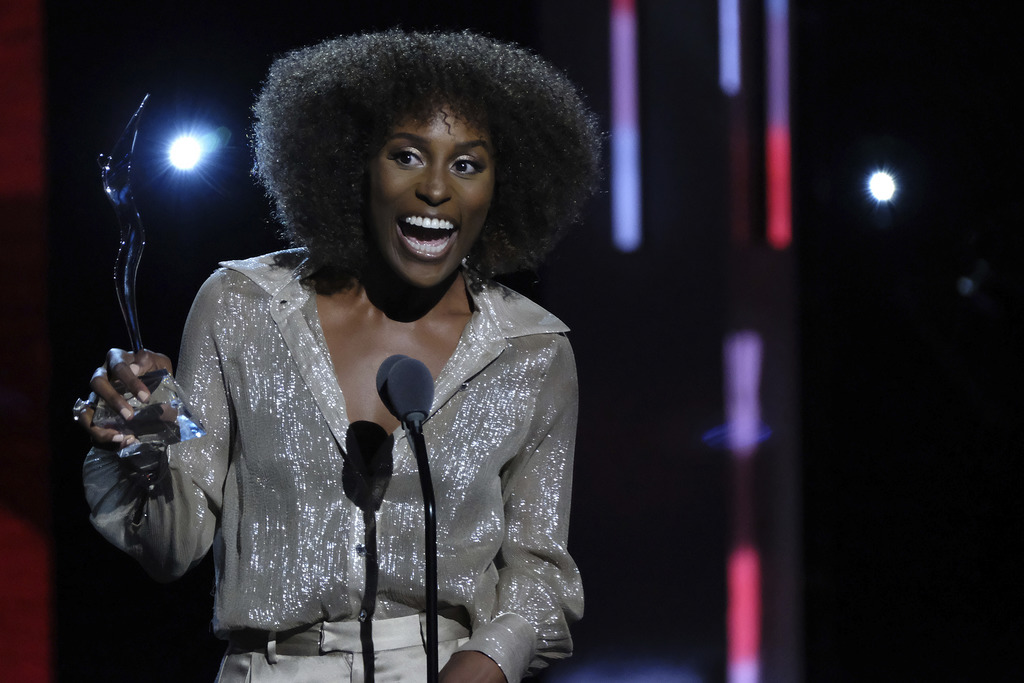 Honoree Issa Rae attends the Black Girls Rock! Awards at the New Jersey Performing Arts Center on Saturday, Aug. 5, 2017, in Newark, N.J. (Photo by Ch...