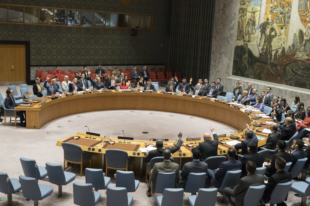 The United Nations Security Council votes on a new sanctions resolution that would increase economic pressure on North Korea to return to negotiations...