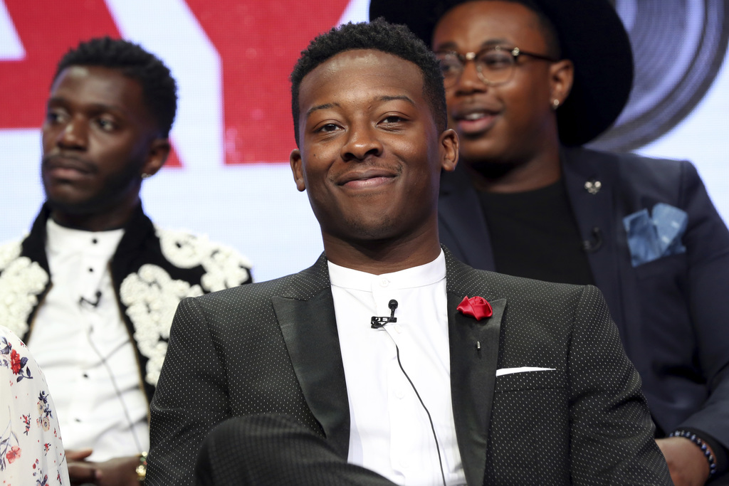 """Brandon Micheal Hall participates in the """"The Mayor"""" panel during the Disney ABC Television Critics Association Summer Press Tour at the Beverly Hilto..."""