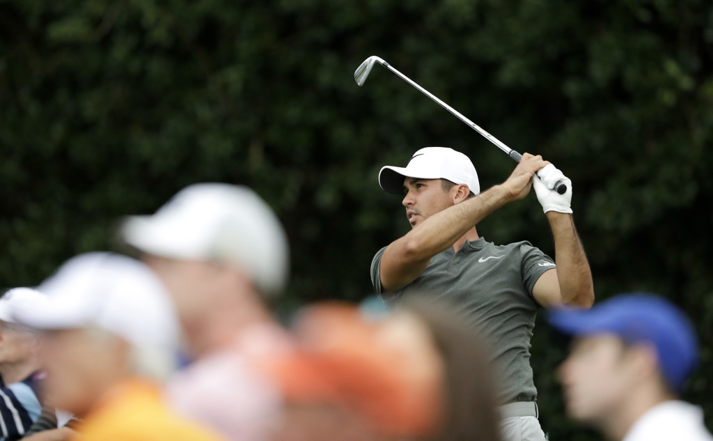US PGA co-leader Kisner comfortable at Quail Hollow