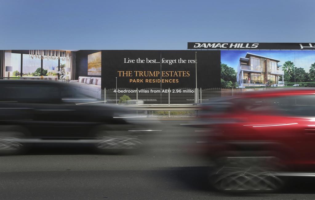 Dubai billionaire seeks to sell Trump-branded    | Taiwan News