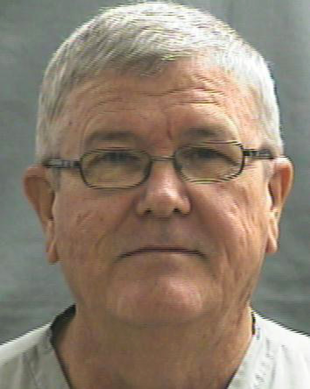 This July 31, 2014 photo provided by the Oklahoma Department of Corrections shows Harold D. English. English, a convicted sex offender who molested hi...