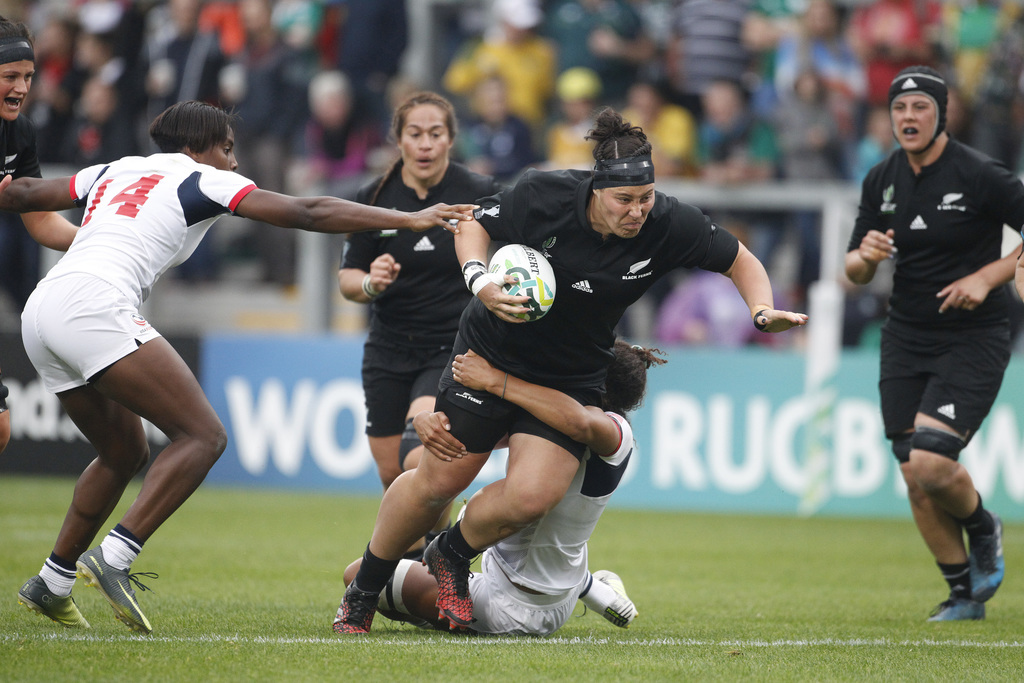 Nz Crush Us 45 12 To Reach 5th Women S Rugby World Cup Final Taiwan News