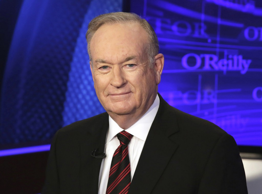 "FILE - This Oct. 1, 2015 file photo shows Bill O'Reilly of the Fox News Channel program ""The O'Reilly Factor"" in New York. The fever over sexual misco"
