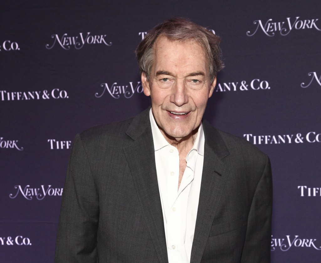 FILE - In this Oct. 24, 2017 file photo, Charlie Rose attends New York Magazine's 50th Anniversary Celebration at Katz's Delicatessen in New York. Vet
