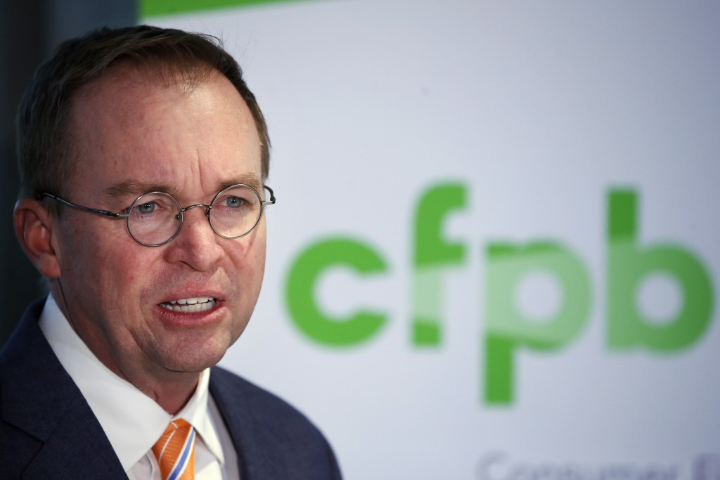 Temporary restraining order to stop Trump's pick for CFPB is denied