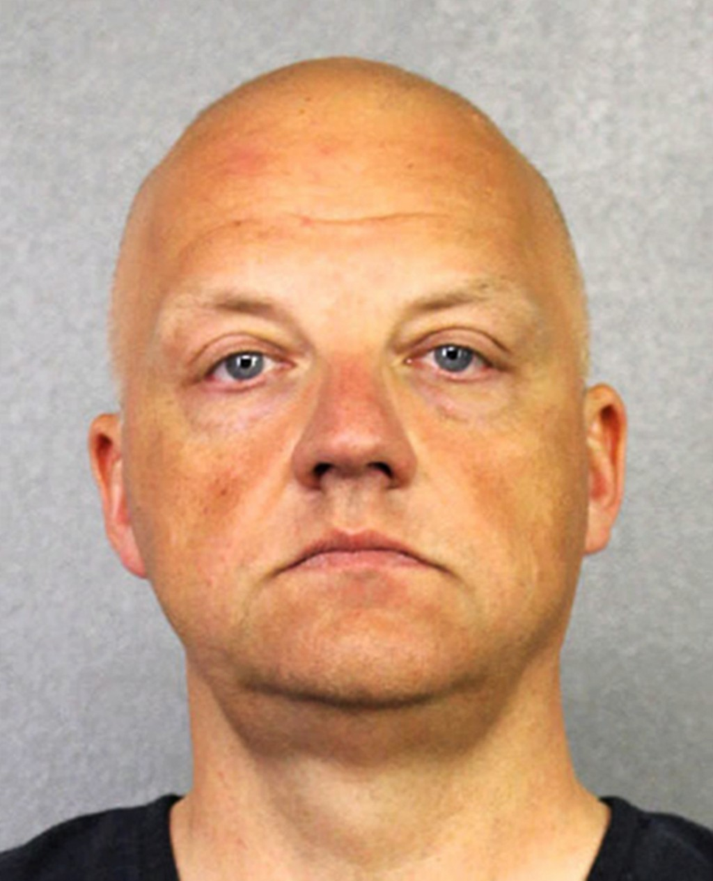 FILE - This January 2017 file photo provided by the Broward County Sheriff's Office shows German Volkswagen executive Oliver Schmidt. Prosecutors are